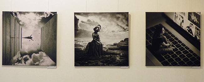 фото работы на выставке