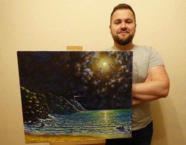 Картина художника Пугача Андрея