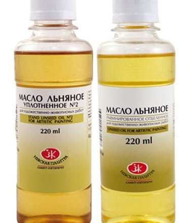 A thinner – vegetable oil