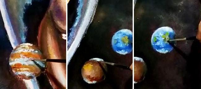 как-рисовать-планеты-в-космосе
