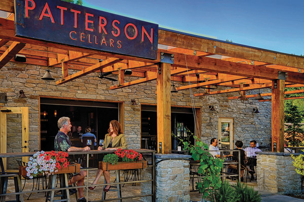 Patterson Cellars in Woodinville, WA