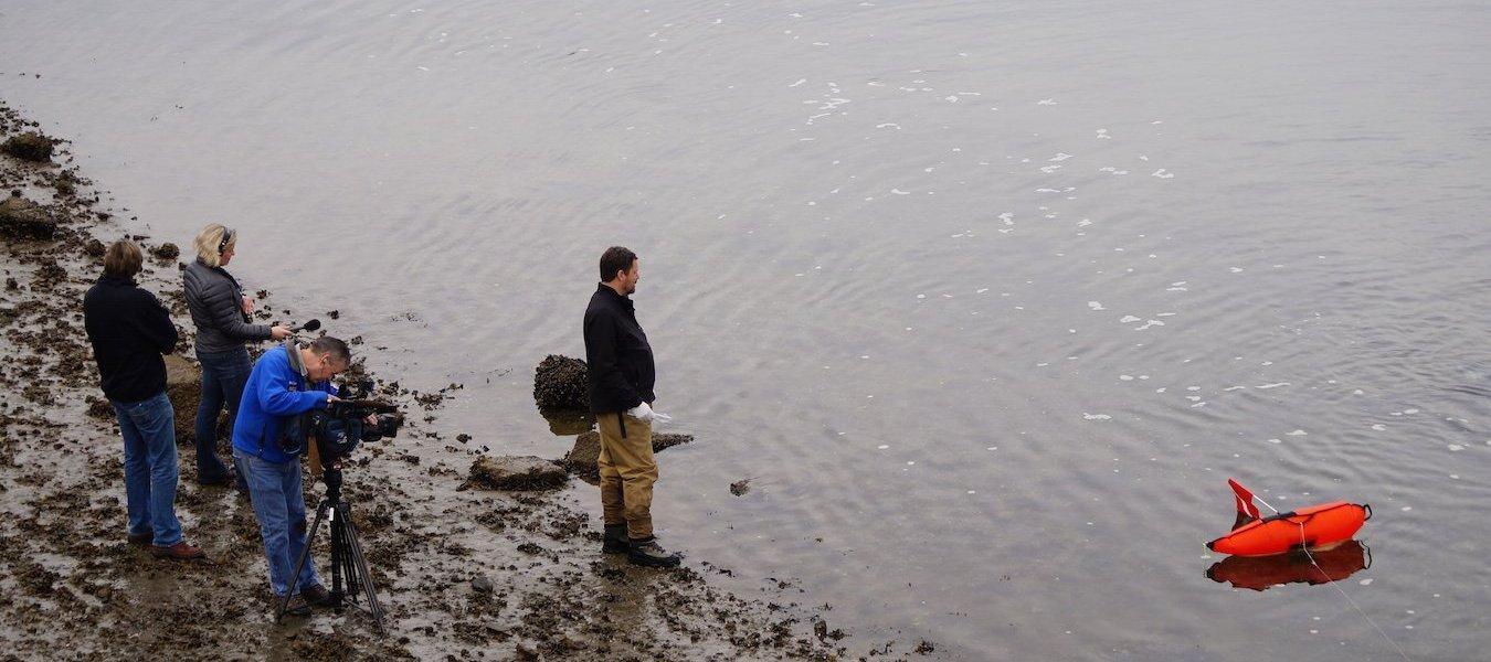 EarthFix covers Soundkeeper's investigation of coal under the Ballard Bridge.