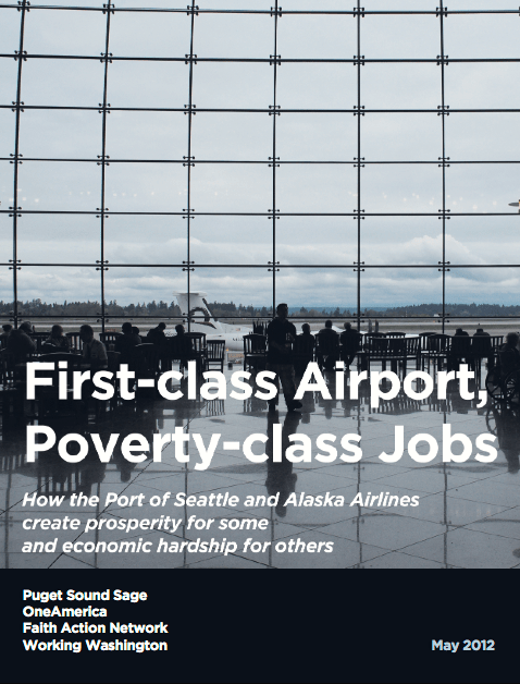 First Class Airport, Poverty Wage Jobs