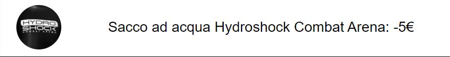 combat-arena-acqua-bag-hydro-shock-sconto-codice-sacco-da-boxe