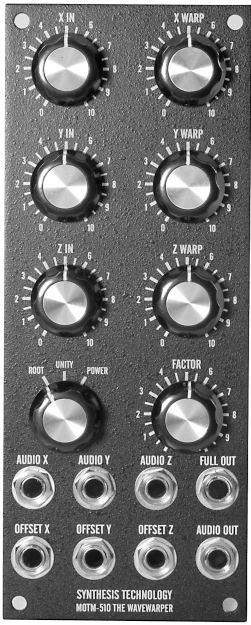 MOTM-510 Wave Warper panel