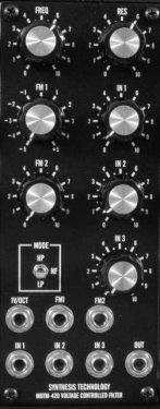 MOTM-420 Voltage Controlled Filter