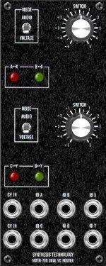 MOTM-700 panel
