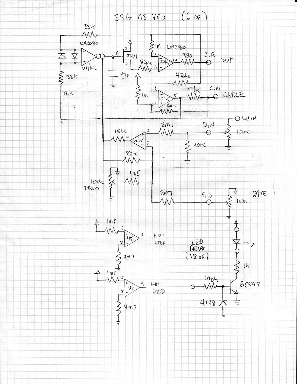 Quantisise VCO - Richard Brewster's Electronic Sounds on