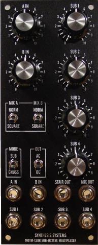 MOTM 120R Sub-Octave Multiplexer