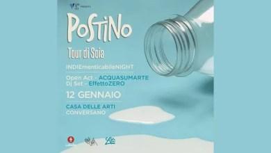 """Photo of [Report&Foto]  POSTINO, la nuova scoperta indie, con il suo """"Tour di Soia"""" alla Casa delle Arti di Conversano !"""