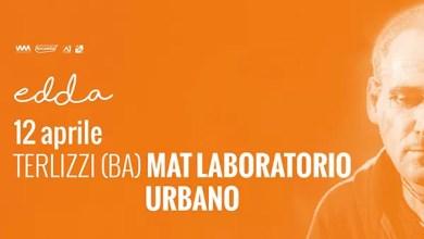 """Photo of [Music Live] EDDA live @ """"Mat Laboratorio Urbano"""" Terlizzi (BA) – 12 aprile 2019"""