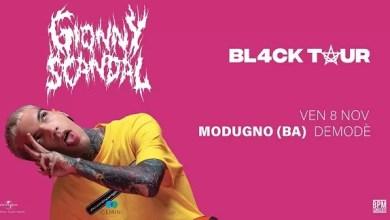 """Photo of [Music Live] Il """"Black Tour"""" live di GIONNYSCANDAL, passa dalla Puglia a novembre  @ """"Demodè Club"""" Modugno (BA) – 8 novembre 2019"""