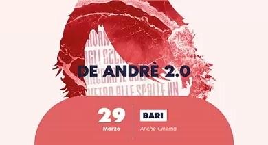 """Photo of [Music Live] De André 2.0 fa tappa a Bari @ """"Anche Cinema"""" Bari – 29 marzo 2019"""