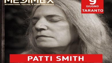 Photo of [Medimex 2019] PATTI SMITH al Medimex di Taranto. Annunciata la prima Headliner del Festival pugliese @ 9 giugno 2019