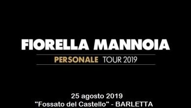 """Photo of [Music Live] Il saluto ai pugliesi di FIORELLA MANNOIA per il """"Personale Tour"""" @ """"Fossato del castello"""" BARLETTA –  25 agosto 2019"""