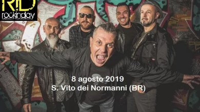 Photo of [Music Live] ROCKINDAY Music Promotion annuncia i PUNKREAS come band-headliner della XIII edizione che si svolgerà l'8 agosto a San Vito dei  Normanni (BR)