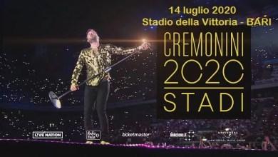 """Photo of [Live Music] Il prossimo tour di CREMONINI #Cremonini2C2CSTADI!  nel 2020, passerà da Bari il 14 luglio @ """"Stadio delle Vittoria"""" BARI"""