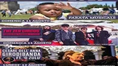 """Photo of [Music Festival] 11 e 12 agosto: THE ZEN CIRCUS e CESARE DELL'ANNA ft O' ZULU @ """"KASCIGNANA MUSIC FEST"""" raddoppia l'appuntamento"""