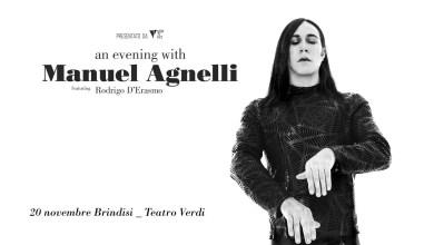 """Photo of [Music Live] """"An Evening With MANUEL AGNELLI  feat. RODRIGO D'ERASMO"""" @ """"Teatro Verdi"""" Brindisi – 20 novembre 2019"""
