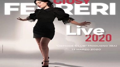 "Photo of [Music Live] GIUSY FERRERI ""live 2020"" @ ""Demodè Club"" Modugno (BA) – 13 marzo 2020"