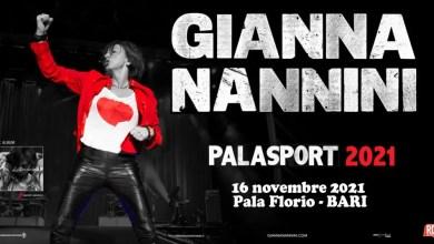 """Photo of [Evento Rinviato] Il prossimo tour nei palazzetti di GIANNA NANNINI riparte dal 2021 @ """"Pala Florio"""" BARI – 16 novembre 2021"""