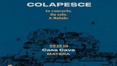 """Photo of [Music Live] COLAPESCE in concerto. Da solo. A Natale ! @ """"Casa Cava"""" MATERA – 22 dicembre 2019"""