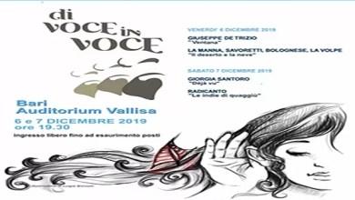 """Photo of [Music Live] Prende il via l'XI edizione del festival metropolitano  """"Di Voce in Voce"""" Due giorni di musica all' """"Auditorium Vallisa"""" di Bari Venerdì 6 dicembre e sabato 7 dicembre"""