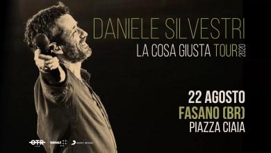"""Photo of Tutto pronto per il concerto di DANIELE SILVESTRI  il 22 agosto in """"Piazza Ciaia"""" a Fasano (BR)"""