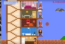 """Photo of """"SUPER RIMBAMBROS VS COVID-19""""  La Rimbamband, in tempi di isolamento forzato da Covid-19, torna sul web con una nuova creazione audiovideo. Ispirandosi al videogame anni '80 Mario Bros."""