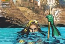 """Photo of La Puglia conquista i """"DC Panini Comics"""": AQUAMAN arriva a Bari l'esclusiva cover del numero ambientata alla Baia di  Polignano, disegnata da Emanuela Lupacchino."""