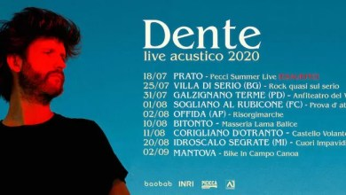 Photo of [Music Live] Doppia data live di DENTE in Puglia: Bitonto 10 agosto e Corigliano d'Otranto 11 agosto