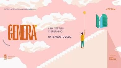 Photo of GENERA FESTIVAL 2020 torna nella sua Cisternino con il palco sui tetti della città dal 10 al 15 agosto.