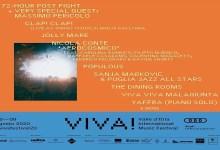 Photo of VIVA! FESTIVAL 2020 VIVA! per la sua quarta edizione annunciati i primi nomi in cartellone dal 6 al 9 agosto: MASSIMO PERICOLO, CLAP! CLAP! , NICOLA CONTE 'AFROCOSMICO', POPULOUS, SANJA MARKOVIC & PUGLIA JAZZ ALL STARS and more…