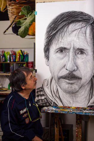 Self portrait of Alfredo Passante