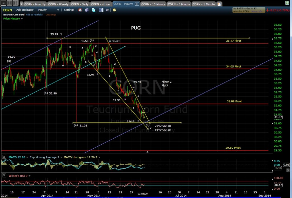PUG CORN 60-min chart 6-3-14 EOD