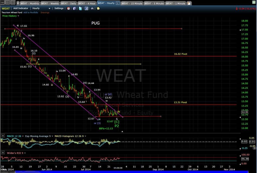 PUG WEAT 60-min chart EOD 7-28-14