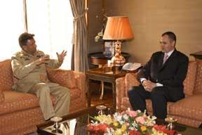 Islamabad workshop: meeting with Pres Musharraf