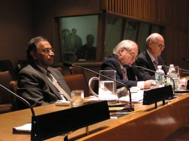 At the screening of The Strangest Dream at the United Nations, May 4, 2009