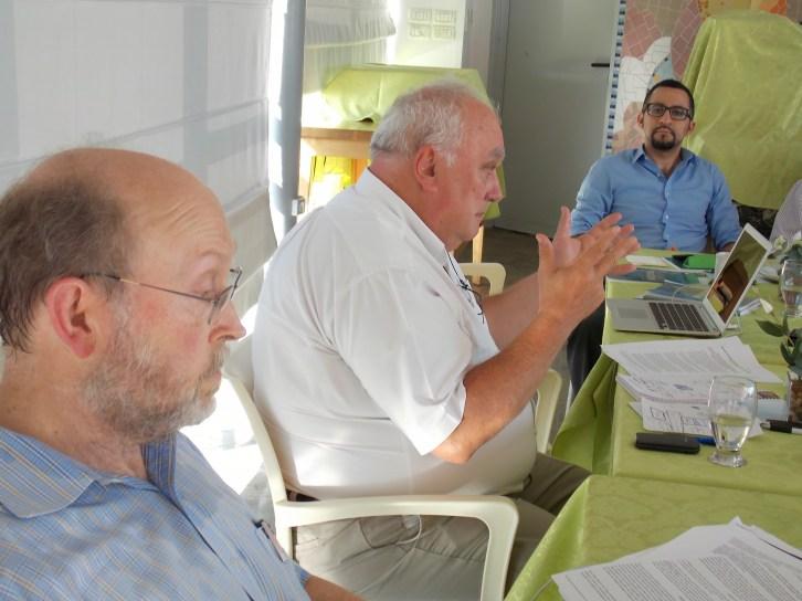 Steve Miller, Paolo Cotta-Ramusino, Reza Marashi