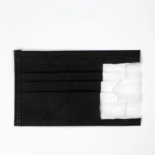 Black Surgical Mask 10 PK