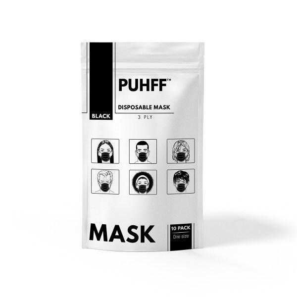 Black Surgical Mask 10 PK bulk sale