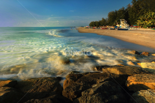 Gandoriah Beach, Tujuan Wisata Kota Pariaman2