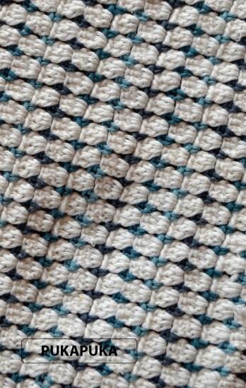 bawełniany kocyk szydełkowy