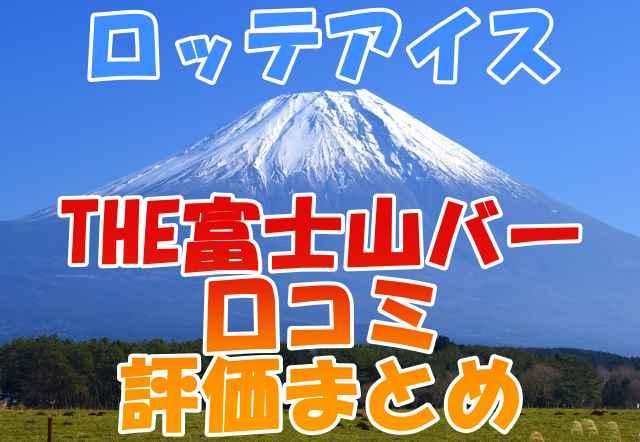 THE富士山バー