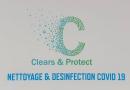 [PARTENAIRE] CLEARS & PROTECT, la solution pour désinfecter vos vestiaires