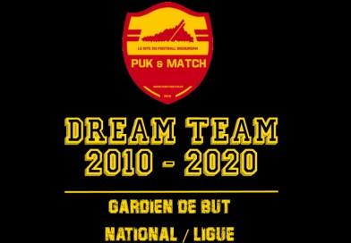 Dream Team – Les nommés chez les gardiens de but (National/Ligue)