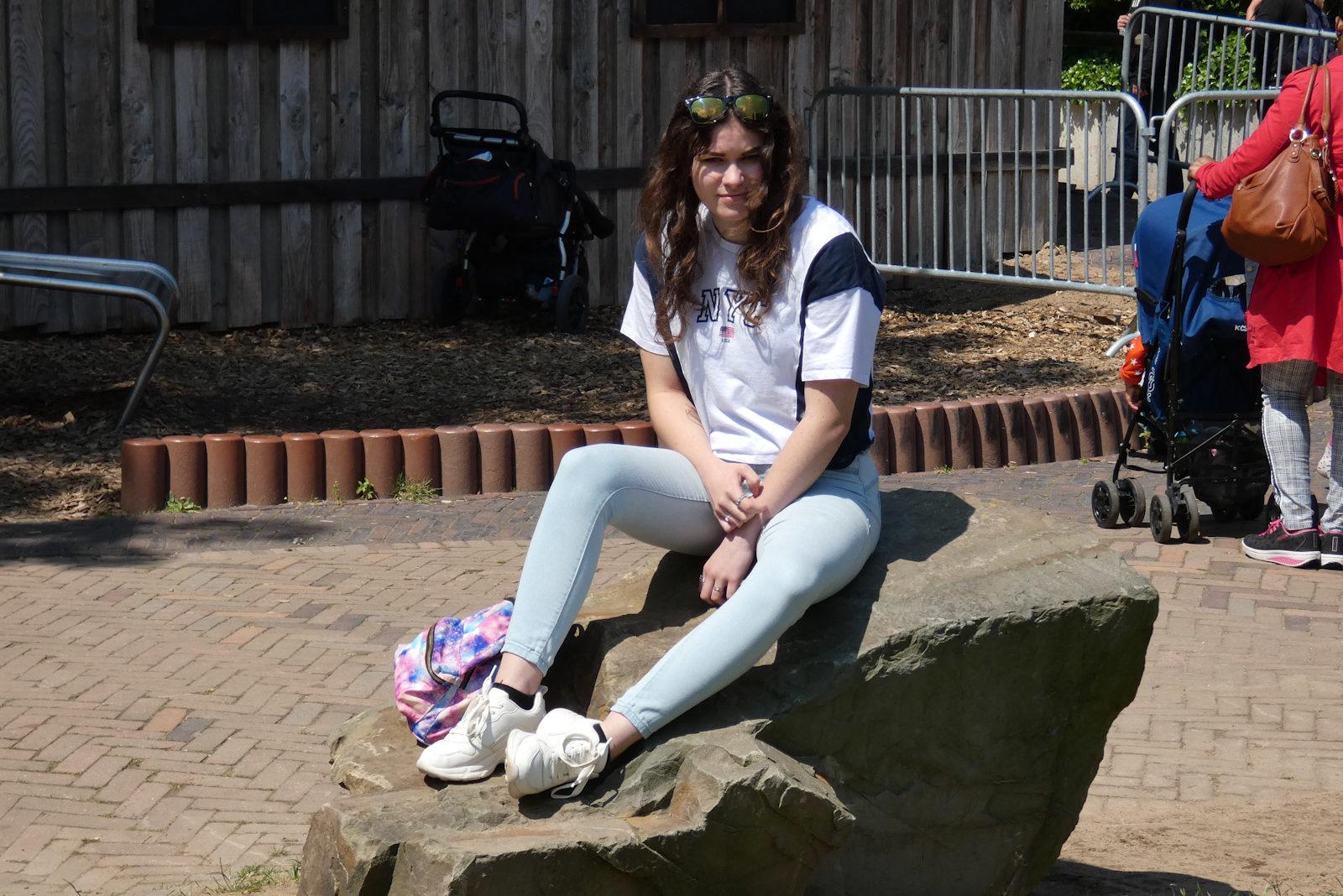 Laura in Ouwehands Dierenpark Rhenen