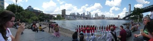 Pebble Beach Brooklyn Bridge Park
