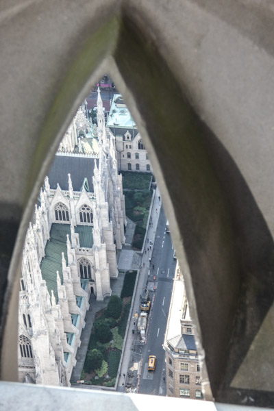 Top of the Rock - St Patricks Cathedral