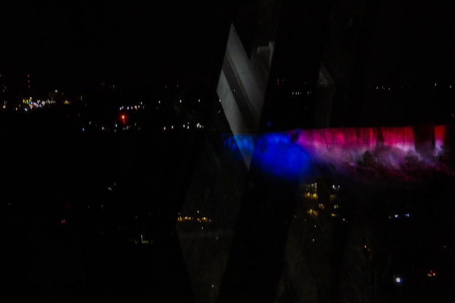 Uitzicht uit Niagara Skywheel